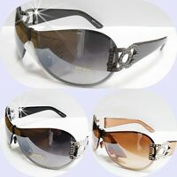 DG  Sunglasses Womens Rhinestones Designer Shades Fashion Eyewear Retro Large