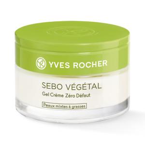 Yves Rocher Riche viso gel crema zero difetti sebo vegetal x pelli miste grasse