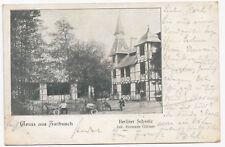 AK Gruss aus Zwibusch Zwiebusch Gasthof Berliner Schweiz Gosen Neu Zittau 1902