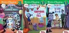 Disney VAMPIRINA Series Readers Collection Levels PRE & 1 Set of Paperbacks 1-3