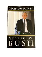 DECISION POINTS Book~by George W. Bush~HB w/ DJ