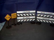 Tonka - Buddy L? Tin Road Signs