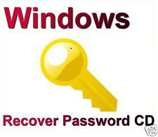 Password Recovery Disc for Windows XP or Vista, Windows 7, 8, Windows 10