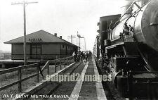 1912 Oregon Trunk Line RR - Eastern OREGON CULVER DEPOT