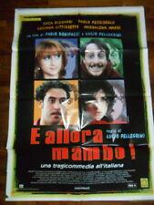"""LOCANDINA FILM """"E ALLORA MAMBO!"""" CON L. LITIZZETTO - LUCA E PAOLO - F.TO 140X100"""