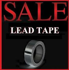"Lead Tape 100"" X 1/2"" Swing Weight Golf Clubs Irons Driver Hybrid Wedge Putter"