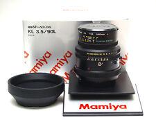 Mamiya RB PRO SD KL 90mm/3.5 LENS