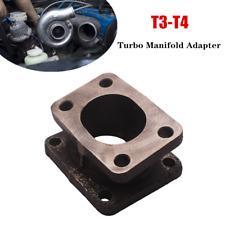 15° T3 - T4 Turbo Manifold Flange Adapter Flange Conversion Convertor Cast Iron