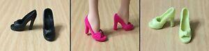 Barbie Fashionista Fashion Fever Model Muse High Heel Peep Toe Pump Shoe -CHOOSE