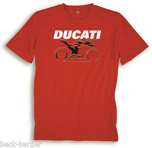 Ducati Graphic 899 1199 1299 panigale Short Red New