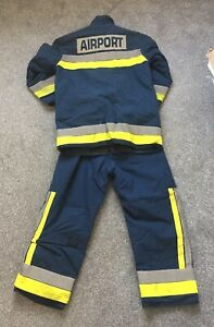 Firefighter Kit Fire Kit Gatwick Airport Firefighter Turnout Gear Tunic Trousers