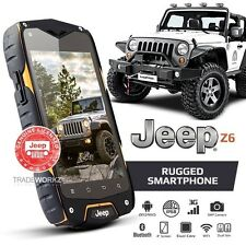 New & Genuine JEEP Z6 Orange Waterproof Outdoor Android 3G Dual SIM Mobile Phone