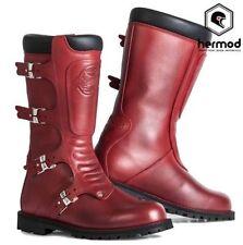 Stivali rosso Stylmartin per motociclista