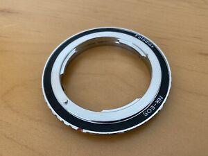 Slightly used, Fotodiox Nik-EOS (Canon EOS mount to Nikon lens adapter)