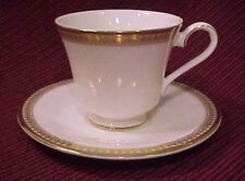 Vintage Royal Doulton Gold Trim RITZ Bone China Cup & Saucer