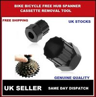 Free Hub Spanner Cassette Removal Tool Bicycle Cycle Shimano Bike Socket Remover