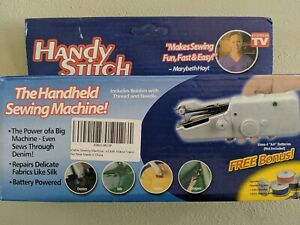 HANDY STITCH Handheld Sewing Machine Portable Stitch Battery Power Cordless Tool