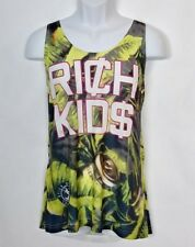 American Apparel Rich Kids Money Print Tank Top Size M