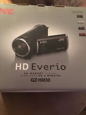 New JVC Everio GZ-HM30 HD Camcorder - Black