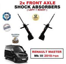2 x Vorderachse links rechts Stoßdämpfer für Renault Master MK III 2010- > nach