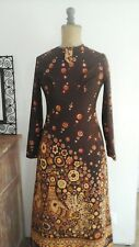 Robe seventies hippie baba cool pop color taille 40 Marque Elite Troyes 70