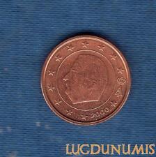 Belgique 2000 2 centime d'euro SUP SPL provenant coffret d'un rouleau - Belgium
