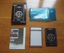 Excellent Neo Geo AES Memory Card snk aes330 neogeo japan jp
