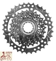 SUNLITE  7-SPEED---11-34T MTB--ROAD SILVER BICYCLE CASSETTE