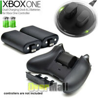 NEW For XBOX ONE Controller Play Charging Cable W/2x Rechargeable Battery Pack