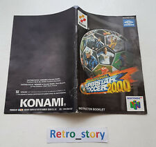 Nintendo 64 N64 ISS 2000 Notice / Instruction Manual