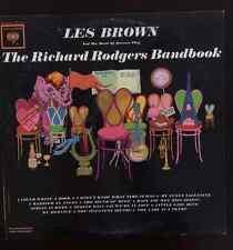 Richard Rodgers Bandbook Les Brown Band Renown LP Records Vinyl Album CL1914