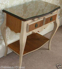PROVENCE & FILS €3000 French Handmade Solid Wood Console Table/Sideboard W74cm