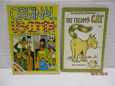 2 Hefte US Freak Brothers / Fat Freddys Cat 1975