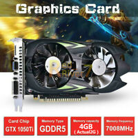 Desktop Graphics Card GTX1050Ti 4G D5 128bit HDMI DVI VGA DVI Video Card
