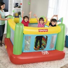 Inflatable Bounce Jumper House Castle PlayBalls Built In Electric Air Pump Kids