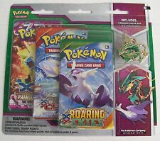 Pokemon Mega Evolution 3-Pack Blister Pack Set of 2 Latios Rayquaza pins sealed