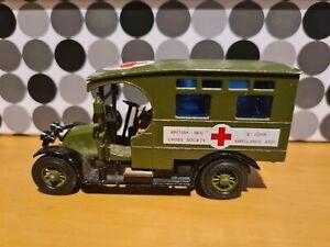 Matchbox Models of Yesteryear Y-25 1910 Renault Ambulance