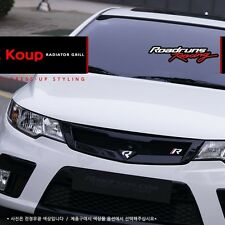 ROADRUNS [Type A] Replacement Radiator Grille for KIA Forte Koup 09-13 UNPAINTED