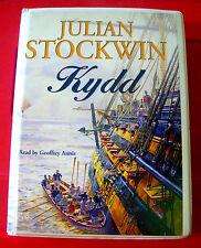 Julian Stockwin Kydd 9-Tape UNABR.Audio Geoffrey Annis Thomas Kydd Maritime/Sea