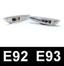 BMW 3 SERIES (E92 E93) COUPE CONVERTIBLE CRYSTAL CLEAR SIDE REPEATERS INDICATOR