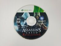 Assassin's Creed: Revelations (Microsoft Xbox 360, 2011) Disc Only Tested Works