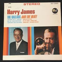 Harry James & His Orchestra ‎– The Ballads And The Beat! 1966 Vinyl LP Record