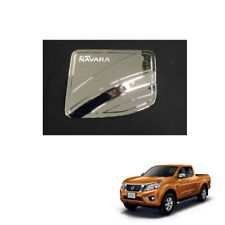 Tank Cover Fuel Cap Chrome 2 Doors for Nissan NP300 Navara Frontier 2015 16 17