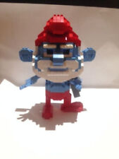 Nanoblock Smurfs Multi-Coloured Building Toys