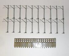 20 Märklin Oberleitungsmasten 7009 für M-Gleise
