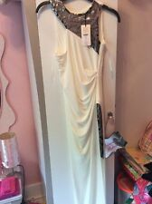 Women's Ivory Slinky Maxi Dress Size 4/32