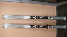 Völkl Attiva Cielo 156 cm Ski Damen Weiß/Silber + Bindung Marker LT10