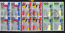 Used Postage Swiss Stamps