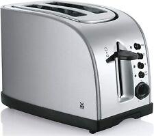 WMF StelioEdelstahltoaster Toastautomat Toaster BrötchenaufsatzKrümelschublade0,