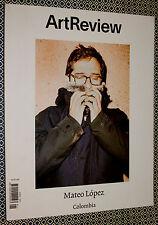 ART REVIEW Magazine, Mateo Lopez, Ryan Trecartin, Rimbaud, Carlos Motta